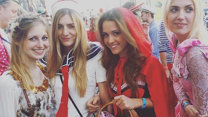 Rotkäppchen Alisa: So feiert die Bachelorette Karneval