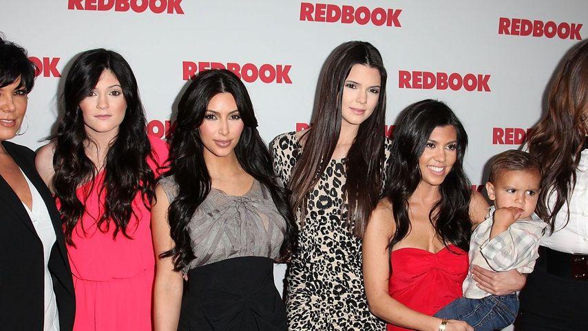 Kylie Jenner, Kim Kardashian, Khloe Kardashian, Kourtney Kardashian, Kendall Jenner und Kris Jenner
