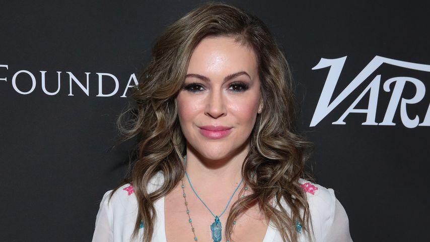 Alyssa Milano, 2020 in Los Angeles