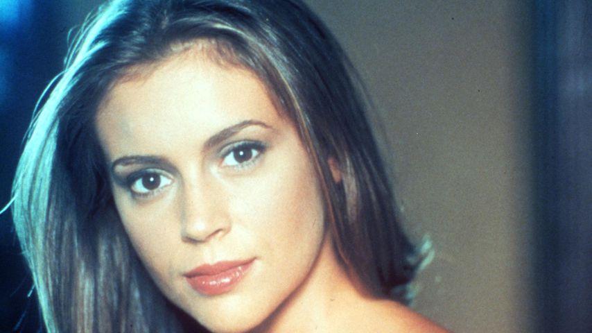 Alyssa Milano, 1999 bei einem Pressetermin