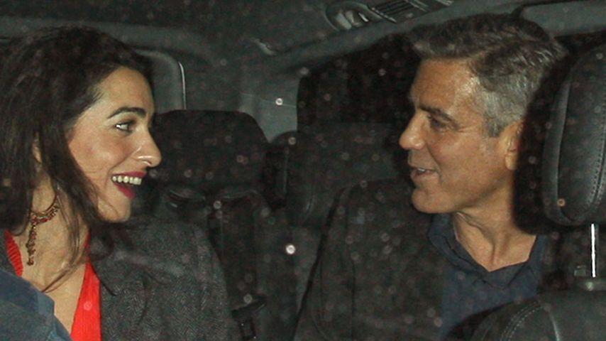 Bestätigt? 1. Glückwünsche zur Clooney-Verlobung