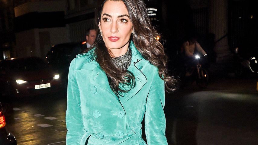 Amal Clooney: Dieser Mantel kostet soviel wie ein Auto!