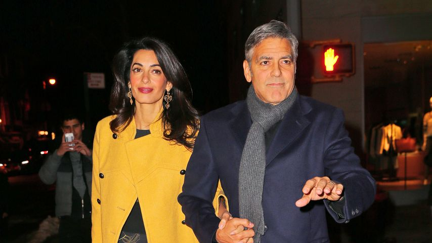 Cool! George Clooney & Amal im Pärchen-Style