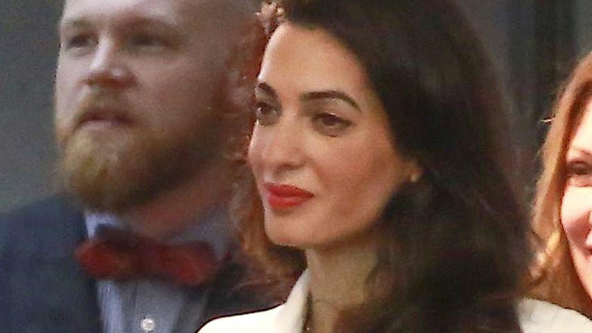 Wölbung! Bekommen Amal & George Clooney ein Baby?