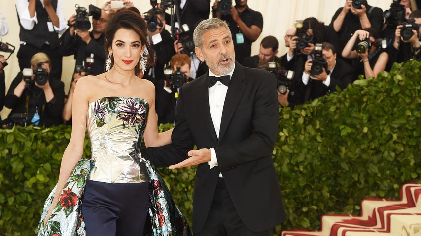 Amal und George Clooney bei der MET-Gala 2018