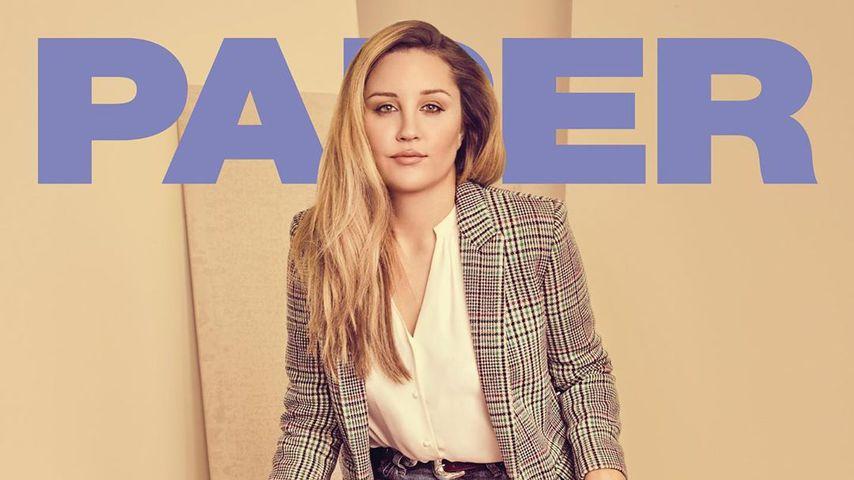 Amanda Bynes auf dem Cover des Paper Magazines im Dezember 2018