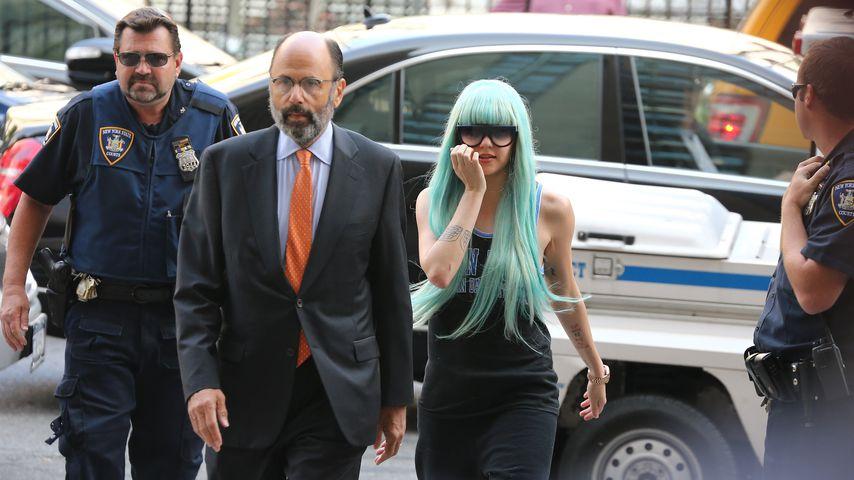 Amandy Bynes vor Gericht in NYC im Juli 2013
