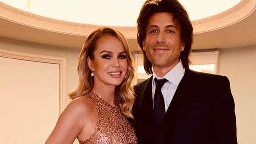 Amanda Holden und ihr Mann Chris Hughes