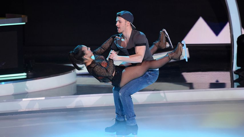"Amani Fancy und Timur Bartels bei ""Dancing on Ice"""