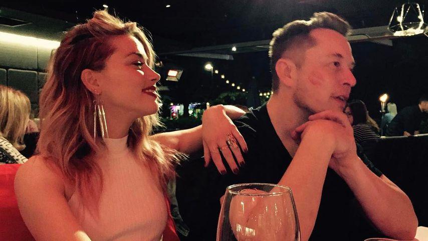 Schauspielerin Amber Heard und Milliardär Elon Musk