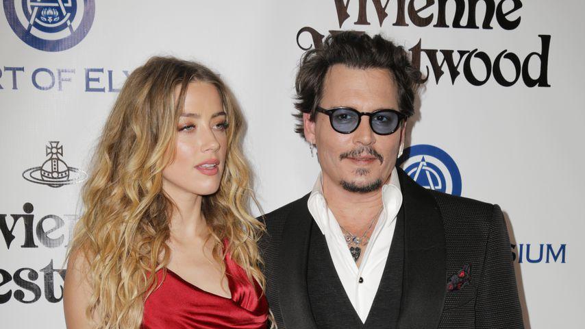Amber Heard und Johnny Depp 2016