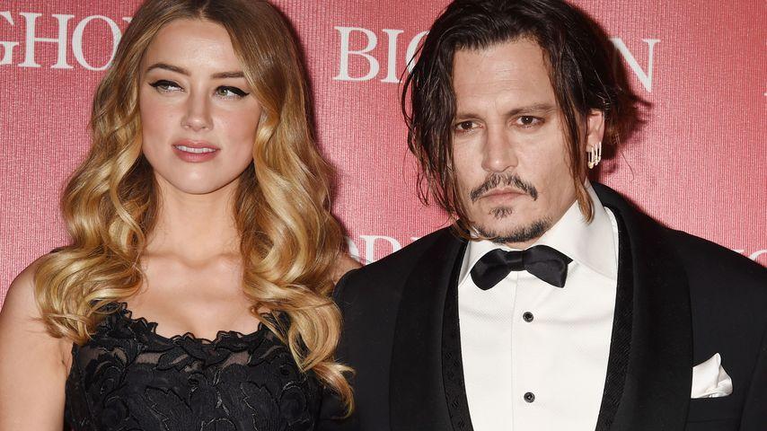 Amber Heard und Johnny Depp beim Palm-Springs-Film-Festival
