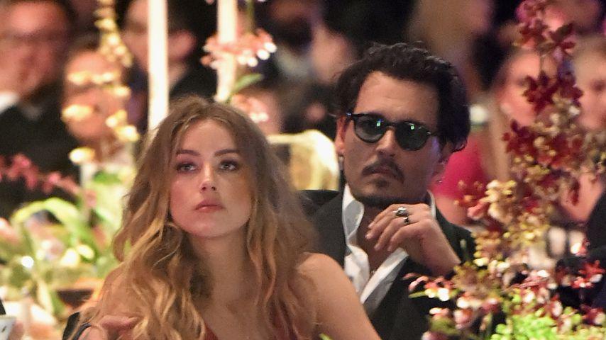Amber Heard und Johnny Depp im Januar 2016