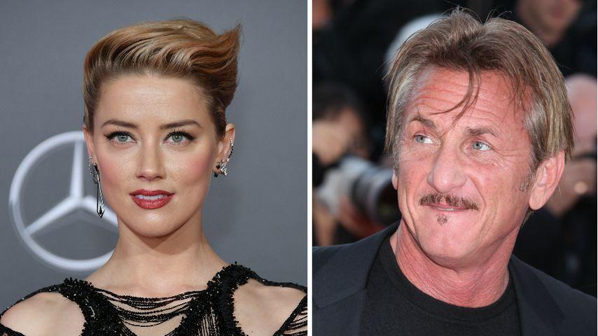 Bei Date gesichtet: Was läuft bei Amber Heard und Sean Penn?