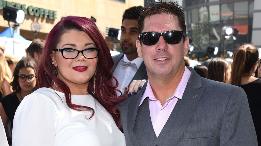 Amber Portwood und Matt Baier bei den MTV Movie Awards 2015 in L.A.