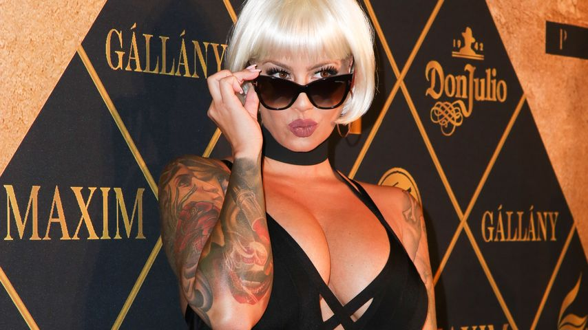 Amber Rose auf der MAXIM Hot 100 Party