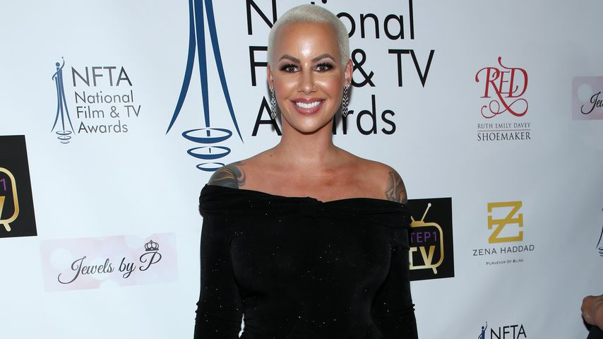 Amber Rose bei den National Film and Television Awards 2018