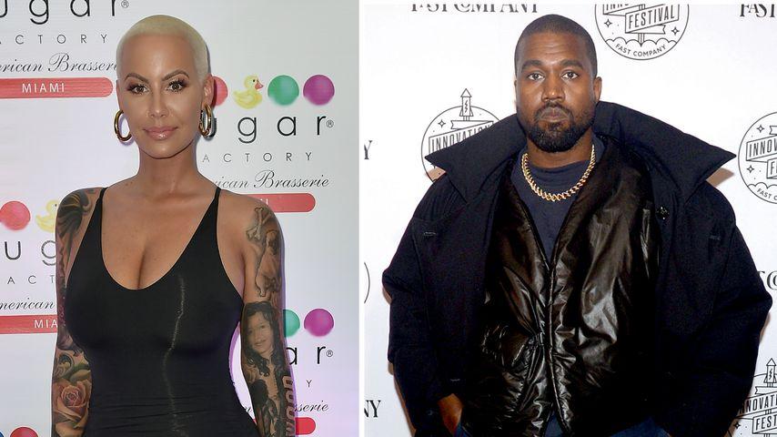 Amber Rose wirft ihrem Ex Kanye West jahrelanges Mobbing vor