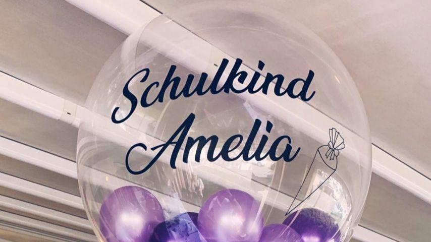 Amelia Starks Luftballon zur Einschulung