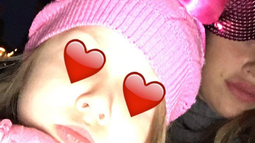 Snapchat-Fail: Kim Gloss zeigt ungewollt Töchterchen Amelia!
