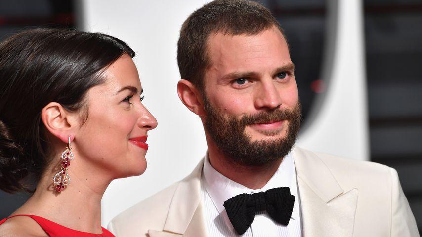 Amelia Warner und Jamie Dornan bei den Oscars 2017