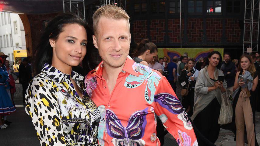 Amira und Oliver Pocher im Juli 2019 bei der Fashion Week in Berlin