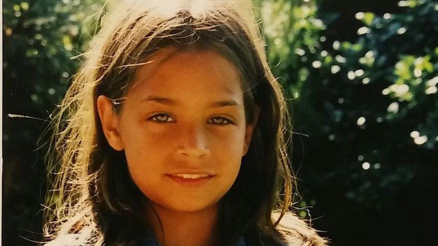 Amira M. Aly als Kind