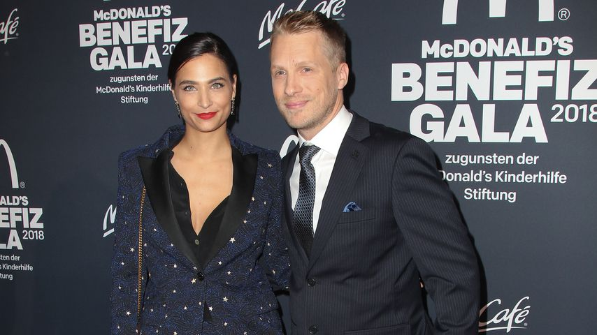 Amira M. Aly und Oliver Pocher bei der McDonalds Benefiz Gala 2018 in München