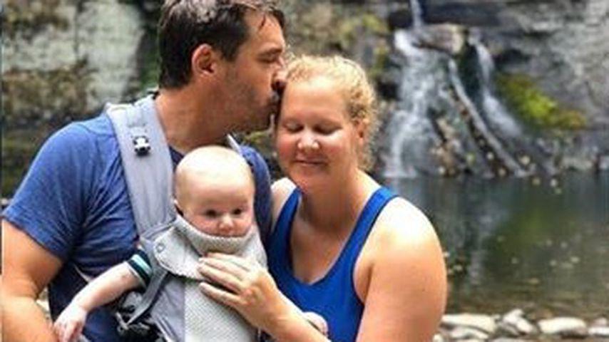 Amy Schumer mit ihrer Familie