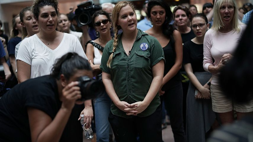 Amy Schumer und Emily Ratajkowski in Washington, Oktober 2018