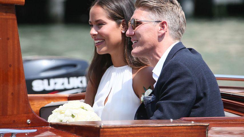 Ana Ivanovic und Bastian Schweinsteiger am Tag ihrer Hochzeit