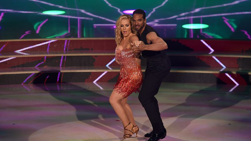 """Anastacia bei ihrem Auftritt bei """"Ballando Con Le Stelle"""""""