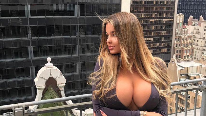Dicke Dinger: Boobies von Kim-K.-Double größer als ihr Kopf