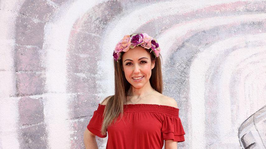Anastasia Zampounidis bei der Irene Luft Fashion Show
