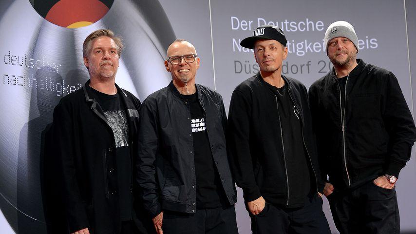 And.Ypsilon, Thomas D, Michi Beck und Smudo beim Deutschen Nachhaltigkeitspreis 2016