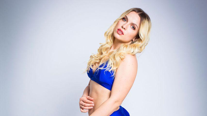 "Andrea, Kandidatin der dritten ""Curvy Supermodel""-Staffel"