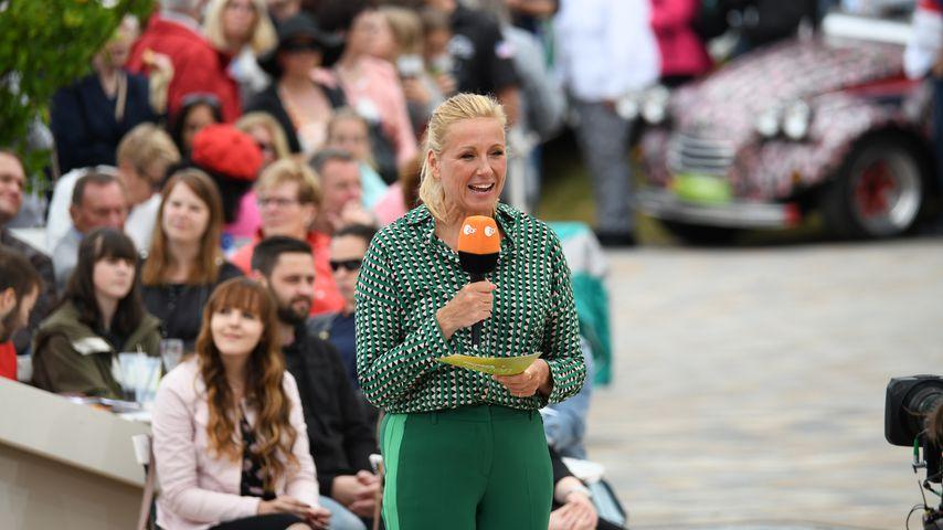 """Andrea Kiewel, Moderatorin des """"ZDF Fernsehgarten"""""""