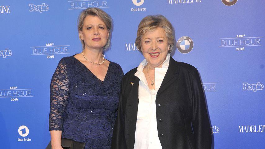 Andrea Spatzek und Marie Luise Marjan 2016 in Berlin