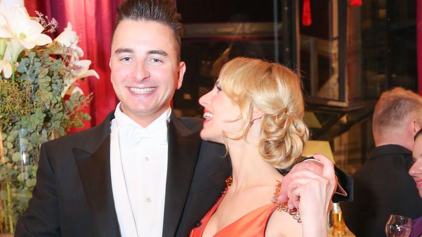 Andreas Gabalier und seine Freundin Silvia Schneider 2015