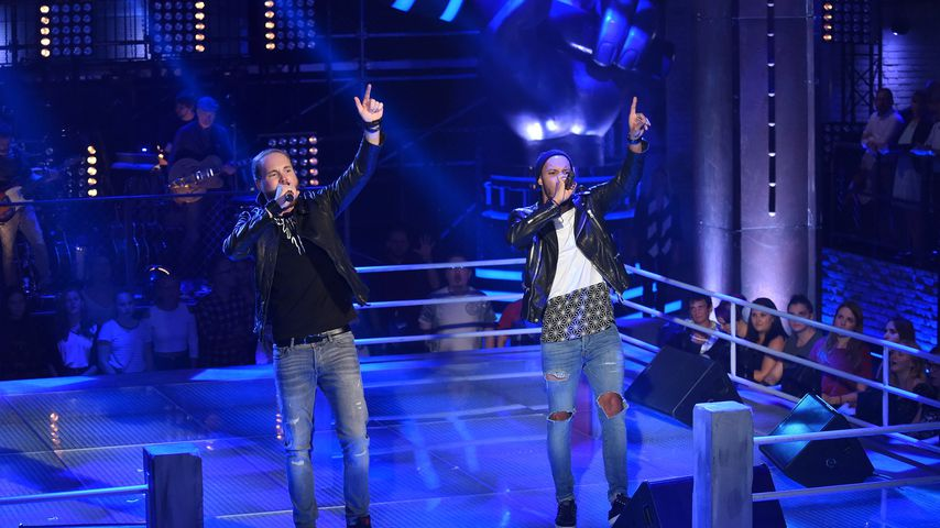 "Andreas Hauser und Sascha Coles bei den ""The Voice of Germany""-Battles"