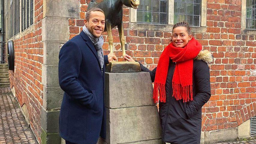 Andrej Mangold und Jennifer Lange in Bremen