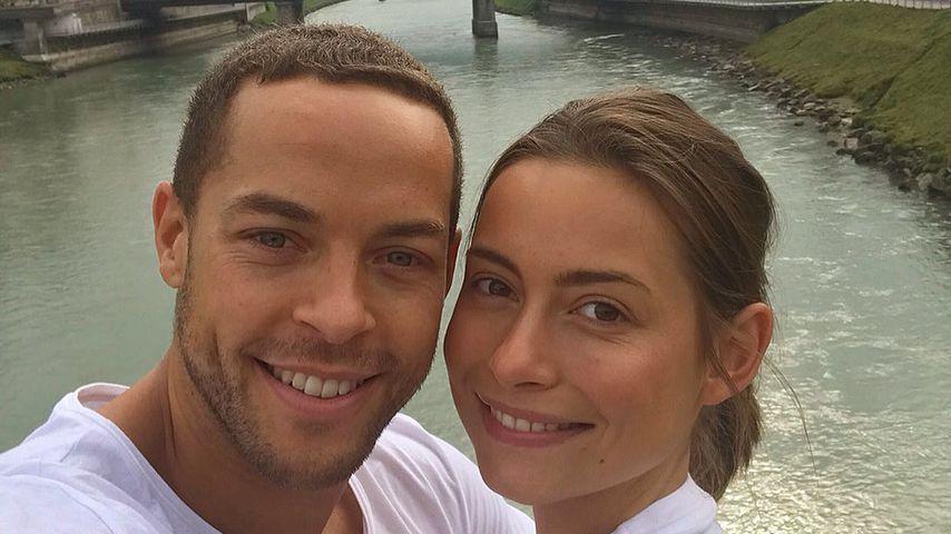 Bachelor Andrej Mangold mit seiner Freundin Jenny Lange