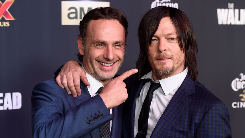 "Andrew Lincoln und Norman Reedus, ""The Walking Dead""-Darsteller"