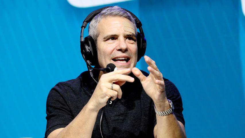 Andy Cohen kommentiert den Super Bowl LIV in Miami im Januar 2020