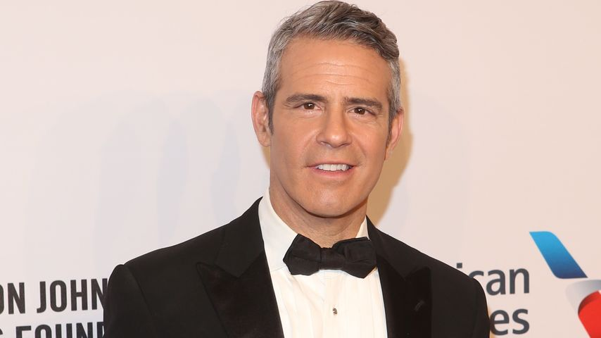 Moderator Andy Cohen