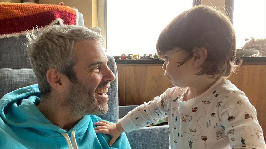 Nach Quarantäne: Andy Cohen sieht Söhnchen Benjamin wieder