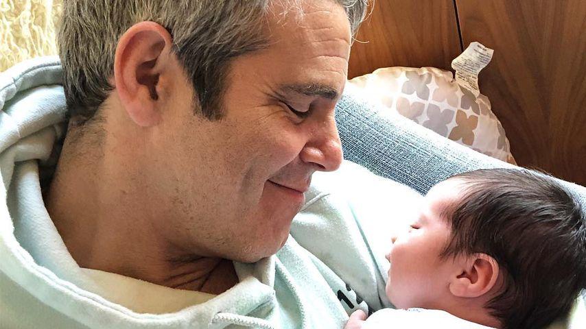 Andy Cohen und sein Sohn Benjamin