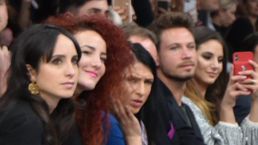 Anelia Janeva, Sebastian Pannek und Carina Zavline bei der Maybelline-Show