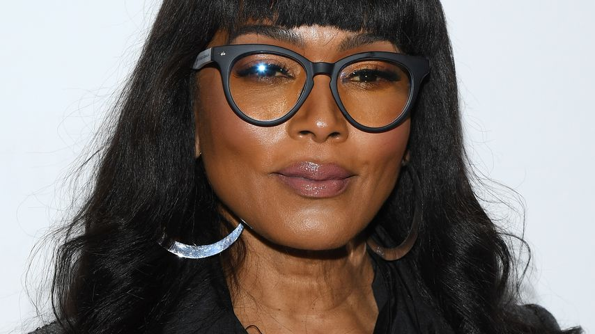 Angela Bassett auf der Fashion Week in Paris im Februar 2020