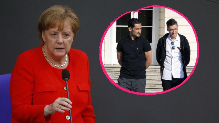 Wegen Erdogan-Foto: Merkel traf sich mit Özil & Gündogan
